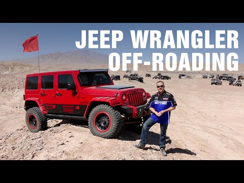 Jeep Wrangler Off-Roading and Dodge SRT Experience Motorz #90