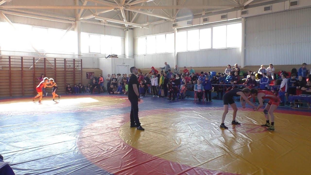 Соревнования по вольной борьбе
