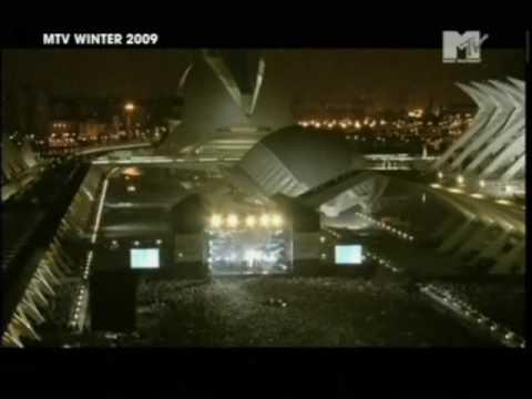 Sheepdog - Mando Diao Live in Valencia MTV WINTER 2009