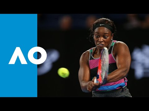Sloane Stephens v Anastasia Pavlyuchenkova first set highlights (4R) | Australian Open 2019