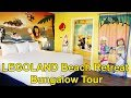 LEGOLAND Beach Retreat Detailed Bungalow Room Tour 2018 - LEGOLAND Florida Resort