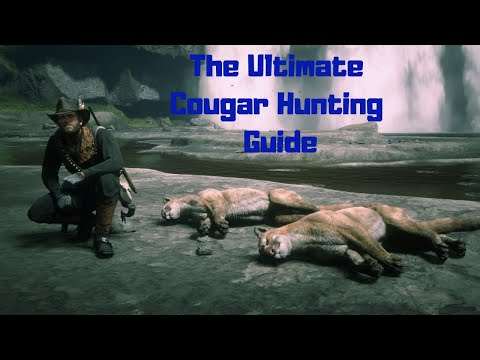 RDR2- The Ultimate Cougar Hunting Guide