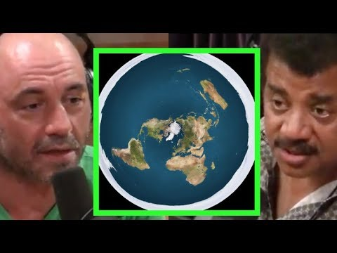 Joe Rogan - Neil deGrasse Tyson on Eric Dubay & Flat Earth