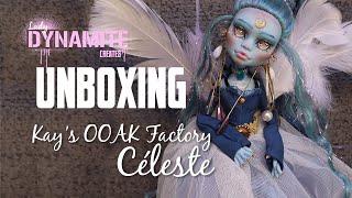 UNBOXING- Céleste, OOAK Art Swap With Kay's OOAK Factory