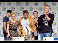 FUNNY! Travis Fimmel (Ragnar) Crashes 'VIKINGS' Comic-Con Panel in Kangaroo Costume