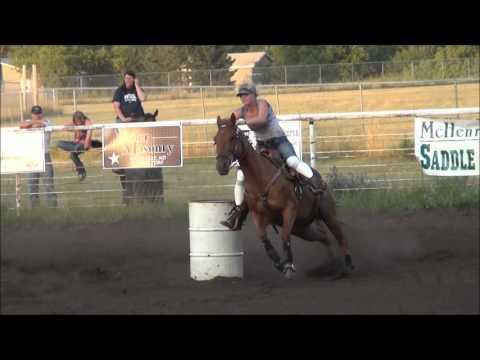 McHenry County Saddle Club Barrel Racing July 17, 2012