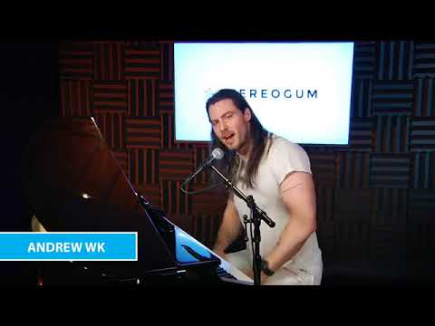Andrew WK performance live Acoustic