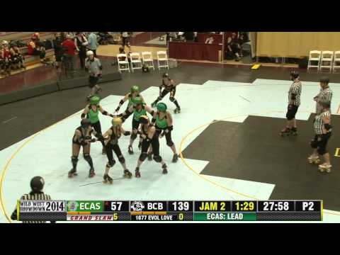 Emerald City Rollergirls vs Boulder County Bombers