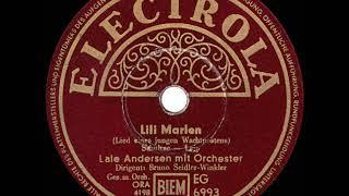 1939 Lale Andersen - Lili Marlene (original German version)