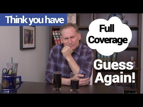 What is full coverage auto insurance
