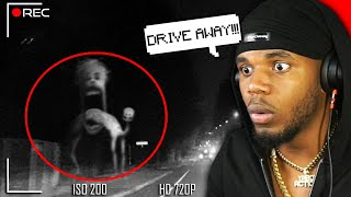 CREEPIEST THING Spotted On DASHCAM… *SCARY*