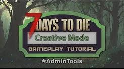 [7 Days to Die] Creative Mode (Fliegen/AdminTools) - Gameplay Tutorial - deutsch