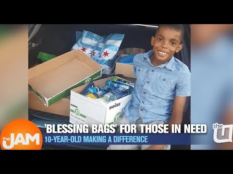 Kristina Kage - Chicago 10-Year-Old Starts Business Helping Homeless