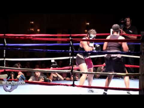 "Teresa Perozzi vs Tori ""Sho Nuff"" Nelson Rounds 2-6, Oct 13 2012"