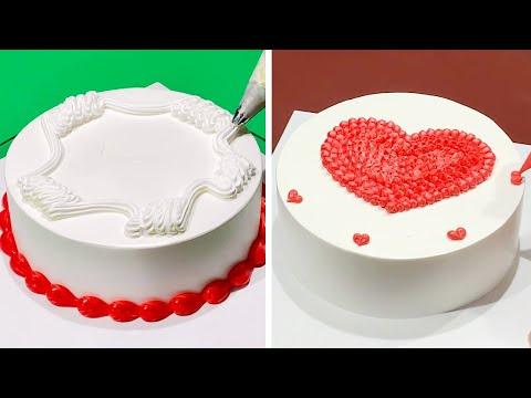 8+ Creative Cake Decorating Ideas Like a Pro | Most Satisfying Cake Design Compilation | Heart Cake