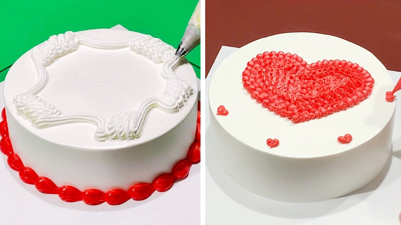 8+ Creative Cake Decorating Ideas Like a Pro | Most Satisfying Cake Design Compilation | Heart Cake