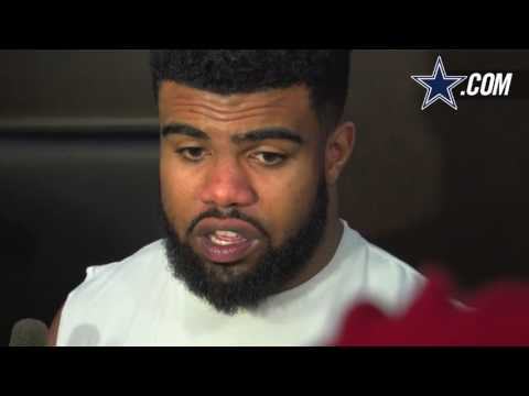 Ezekiel Elliott: On Car Accident; Excited To Get Back On Field