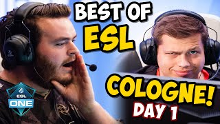 ESL COLOGNE 2016 - Funny Moments & Highlights! (DAY 1)