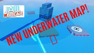 *NEW* UNDERWATER MAP IN ROBLOX JAILBREAK 💧😱🏊🏿‍♀️