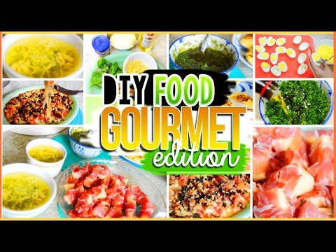 4 DIY Easy Snacks, Treats, Breakfast & Lunch Ideas: Gourmet Edition Healthy + Yummy | AlohaKatieX