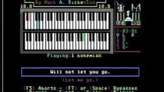 """C64 does """"Bohemian Rhapsody"""" karaoke"""