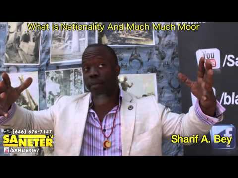 Sharif A. Bey:  The History Of The Real Moors, Play Your Self Reggie.