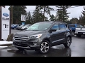 2017 Ford Escape SE AWD Ecoboost W/Leather & Twin Panel Moonroof Review | Island Ford