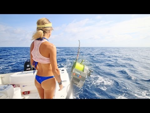 Florida Keys Offshore Swordfish and Deep Dropping Fishing Video