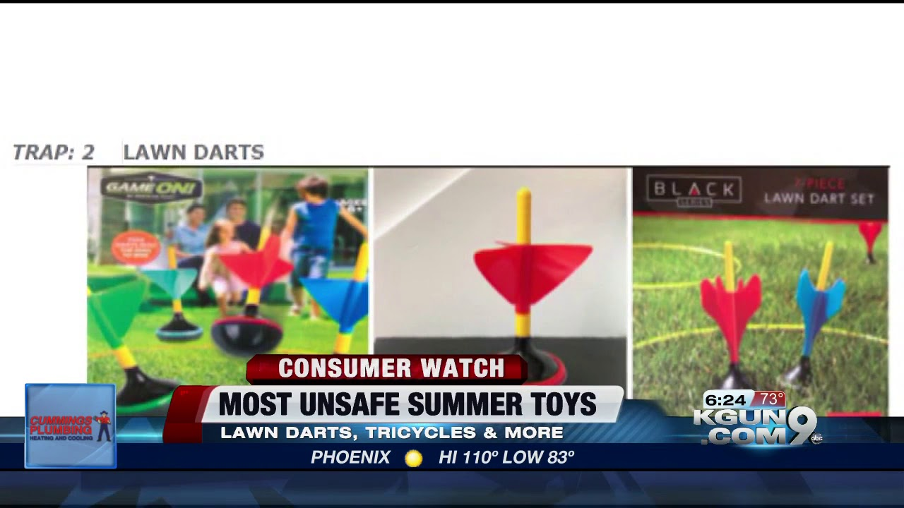 Most Unsafe Summer Toys Of 2018 Youtube