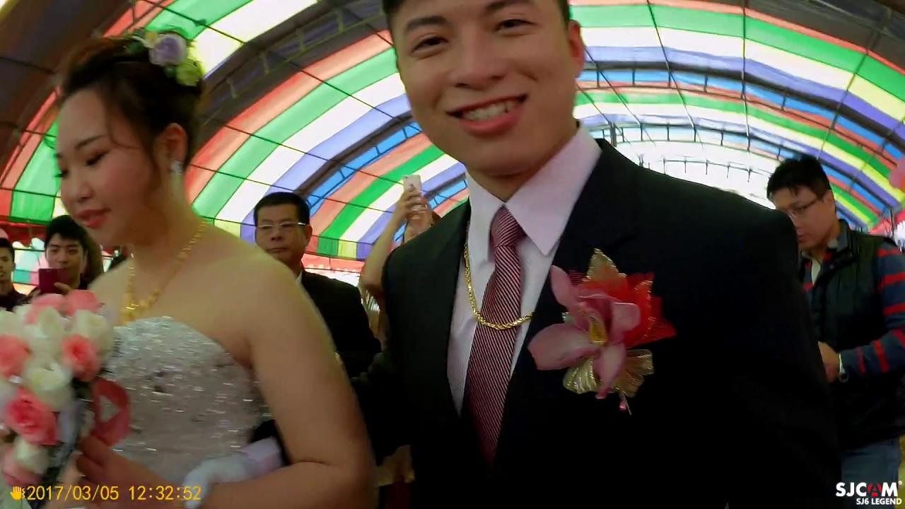 廖經瑋 & 莊雅惠 結婚典禮 @瑜 - YouTube