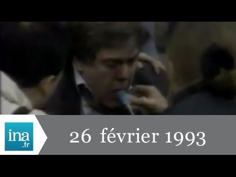 20h France 2 du 26 février 1993 - Attentat au World Trade Center - Archive INA