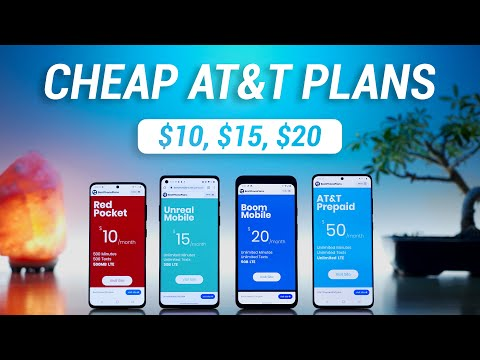 Best Cheap AT&T Cell Phone Plans!