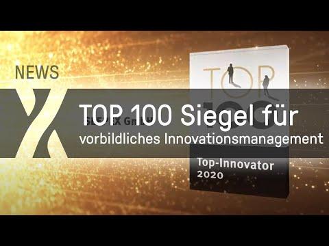 SEEPEX trägt jetzt das TOP 100 Siegel für vorbildliches Innovationsmanagement.