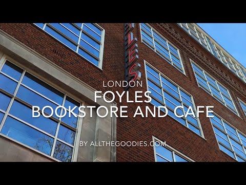 Foyles Bookstore And Cafe, London