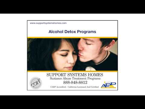 Support Systems Homes Offers Alcohol Rehabilitation Programs in Santa Clara and Cupertino