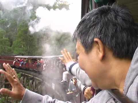 YU wa Dee ตอน นั่งรถไฟไปออสเตรเลีย