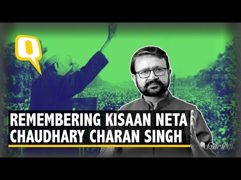 Remembering Chaudhary Charan Singh, The Kisaan Neta of India | The Quint