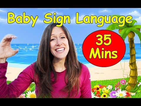 Baby Language Song ASL | American Sign Language Collection | 14 videos |