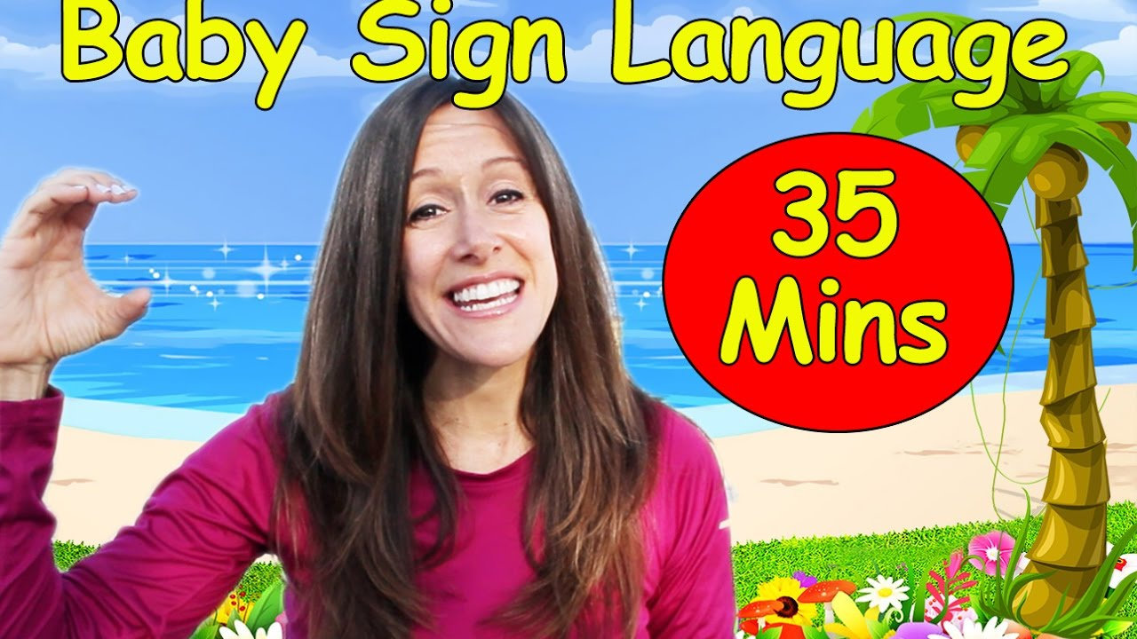 Download Baby Language Song ASL   American Sign Language Collection   14 videos  