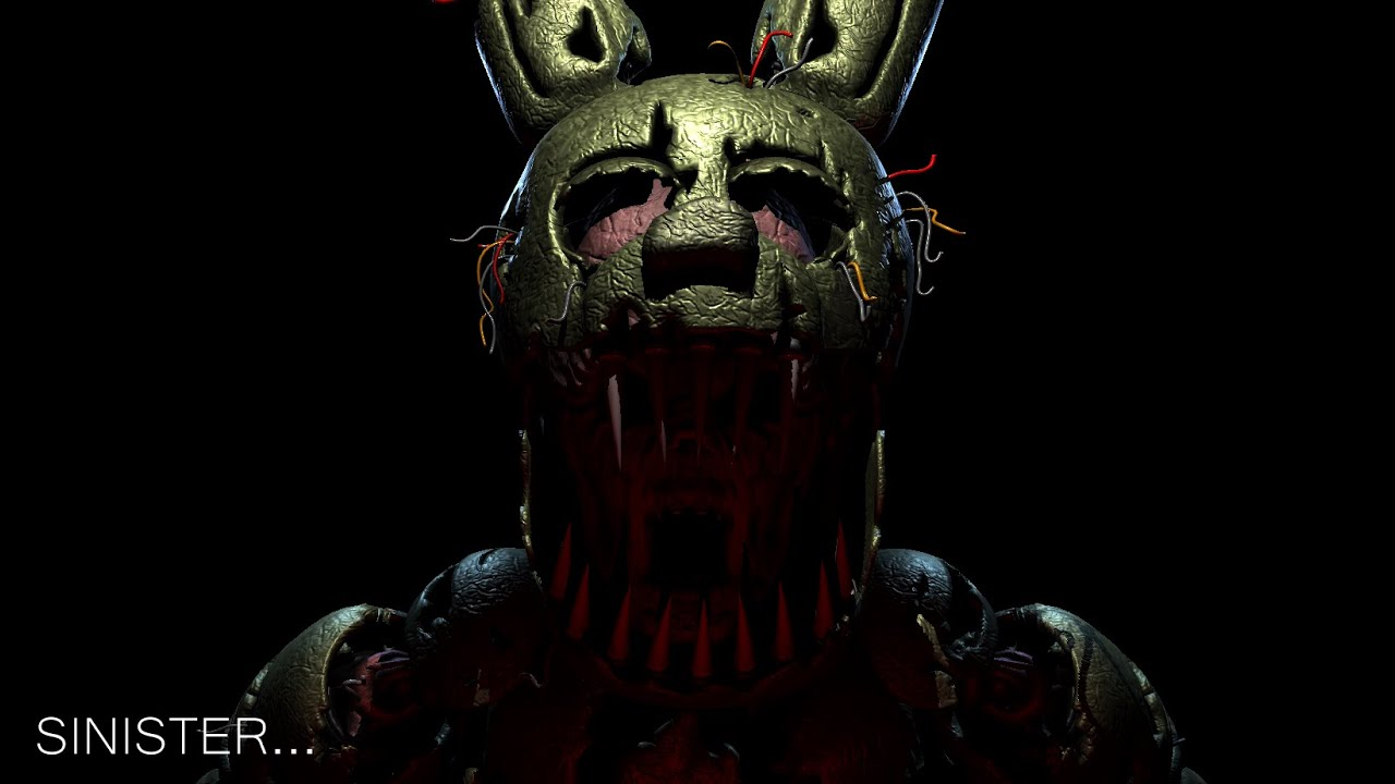 Me Convierto En Springtrap Five Nights At Freddy S Sinister Turnmoil Youtube
