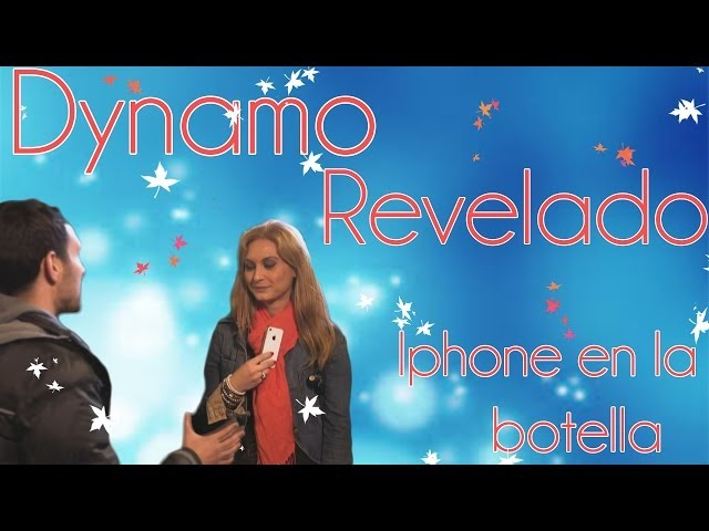 Dynamo revelado: Iphone en la botella NEW!