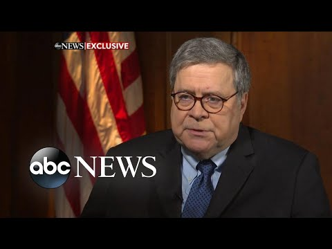 Barr blasts Trump's tweets: 'Impossible for me to do my job': ABC News Exclusive