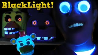 Having Fun with my New Black Light!