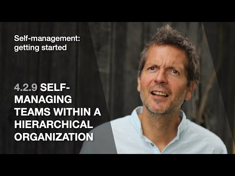 4.2.9 Self-managing Teams Within A Hierarchical Organization (Self-management: Getting Started)