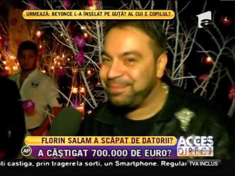 Florin Salam A Câştigat 700.000 De Euro La Casino!