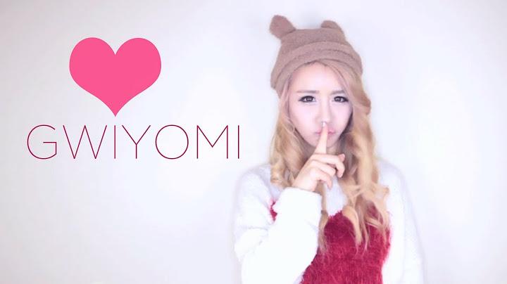 gwiyomi by wengie   hari     cutie song  gwiyomi  kiyomi  kwiyomi