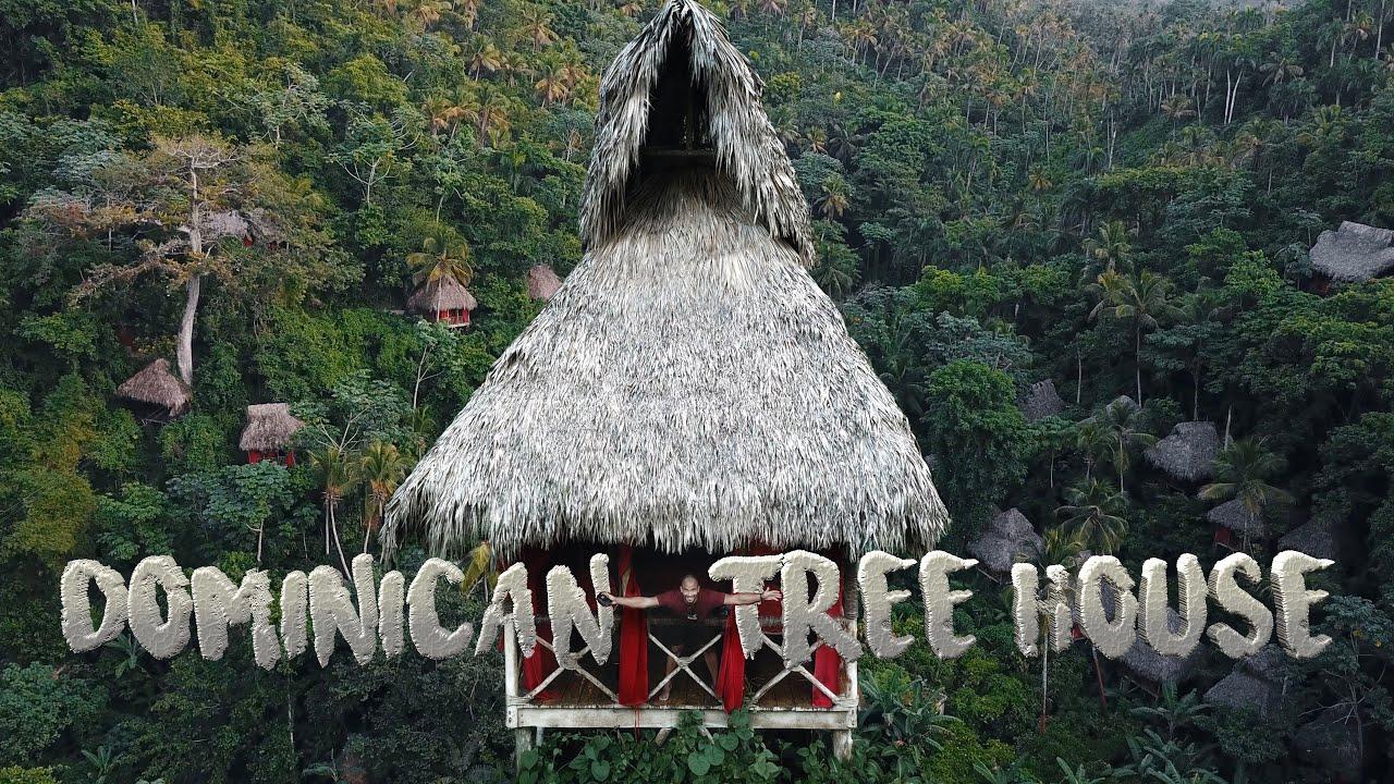 El hotel más épico de SAMANÁ | DOMINICAN TREE HOUSE