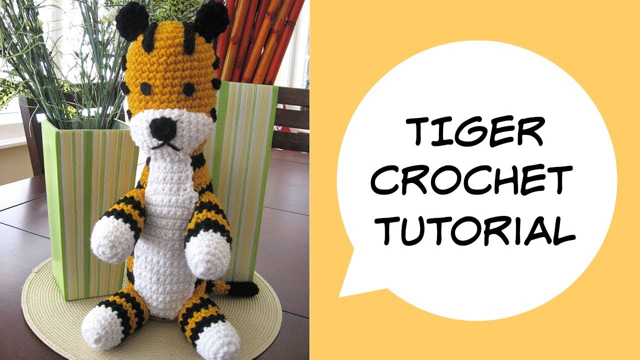 Romeo the Tiger amigurumi pattern - Amigurumi Today | 720x1280