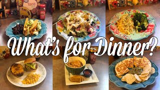 What's for Dinner? | Easy & Budget Friendly Family Meal Ideas| April 22-28, 2019