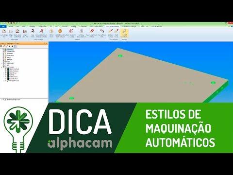 Dica 04 AC | Estilos de Maquinação Automáticos (Auto Styles)
